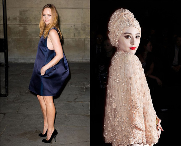 vanity fair, international best dressed list, 2012, celebrity fashion, stella mccartney, fan bing bing
