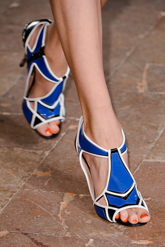 Milan, catwalk, runway show, spring summer 2013, shoes, Aquilano Rimondi