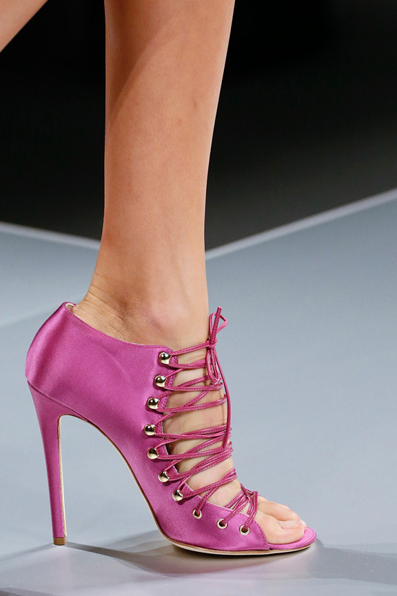 Milan, catwalk, runway show, spring summer 2013, shoes, blumarine