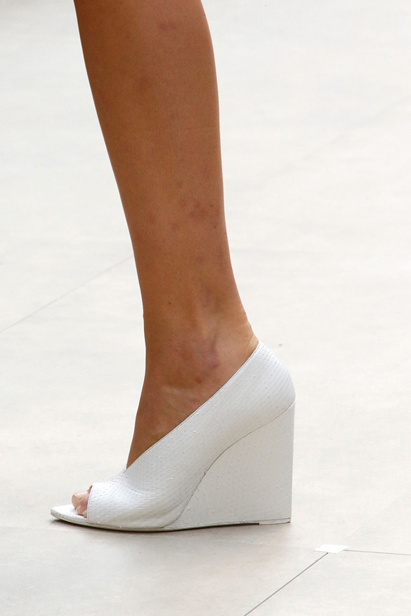 London, catwalk, runway show, spring summer 2013, shoes, Burberry