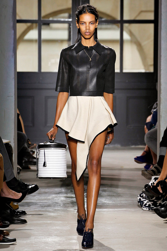 Paris, catwalk, runway show, review, critic, spring summer 2013, Balenciaga