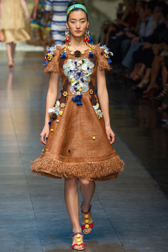 Milan, catwalk, runway show, spring summer 2013, Dolce & Gabbana
