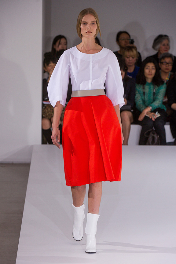Milan, catwalk, runway show, spring summer 2013, Jil Sander