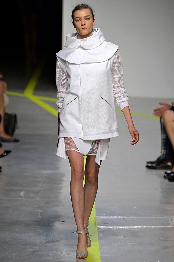 London, catwalk, runway show, spring summer 2013, Richard Nicoll