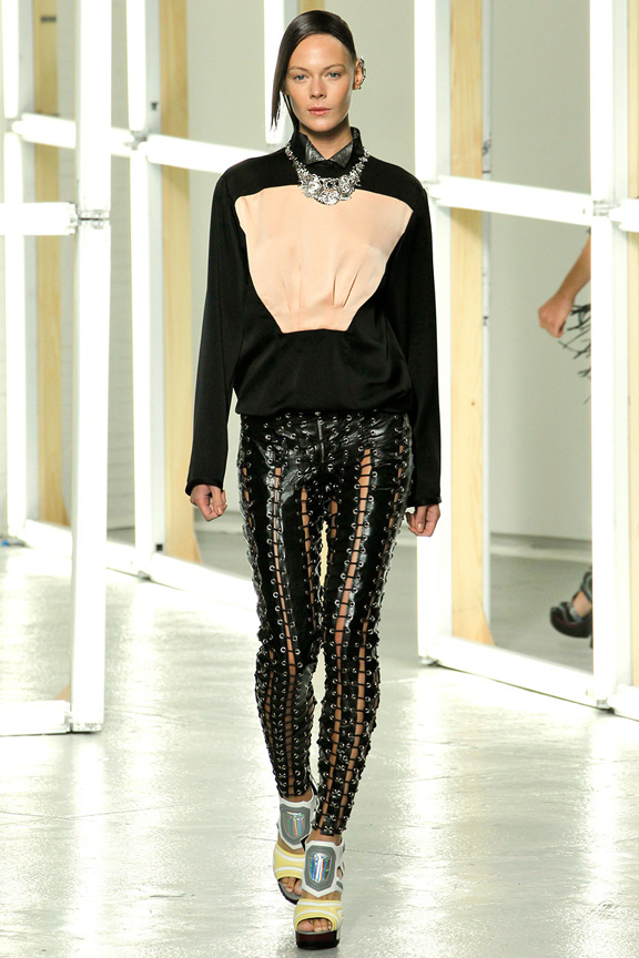 New York, catwalk, runway show, spring summer 2013, Rodarte