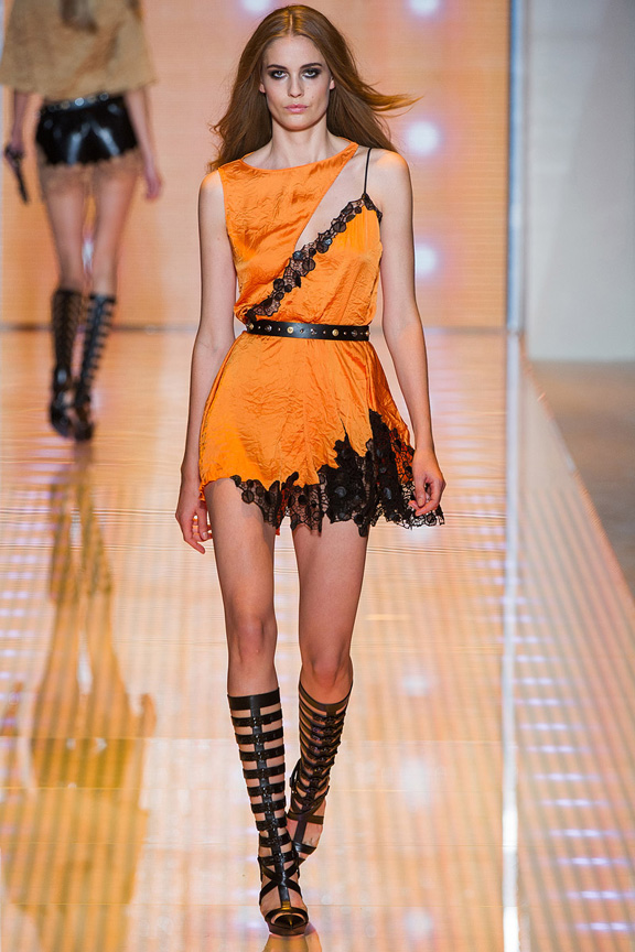 Milan, catwalk, runway show, spring summer 2013, Versace