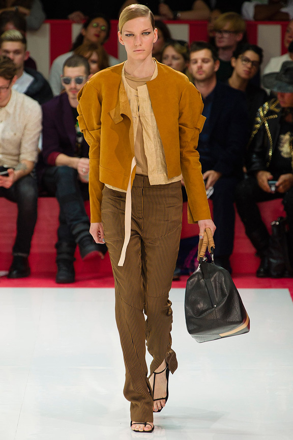 London, catwalk, runway show, spring summer 2013, Acne Studios