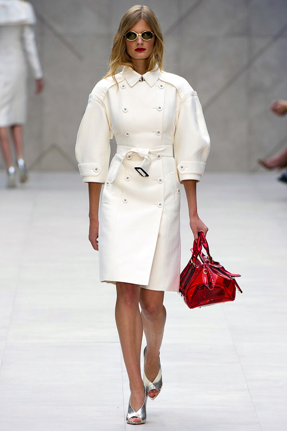 London, catwalk, runway show, spring summer 2013, Burberry Prorsum