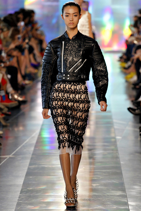 London, catwalk, runway show, spring summer 2013, Christopher Kane