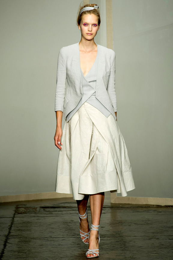 New York, catwalk, runway show, spring summer 2013, Donna Karan