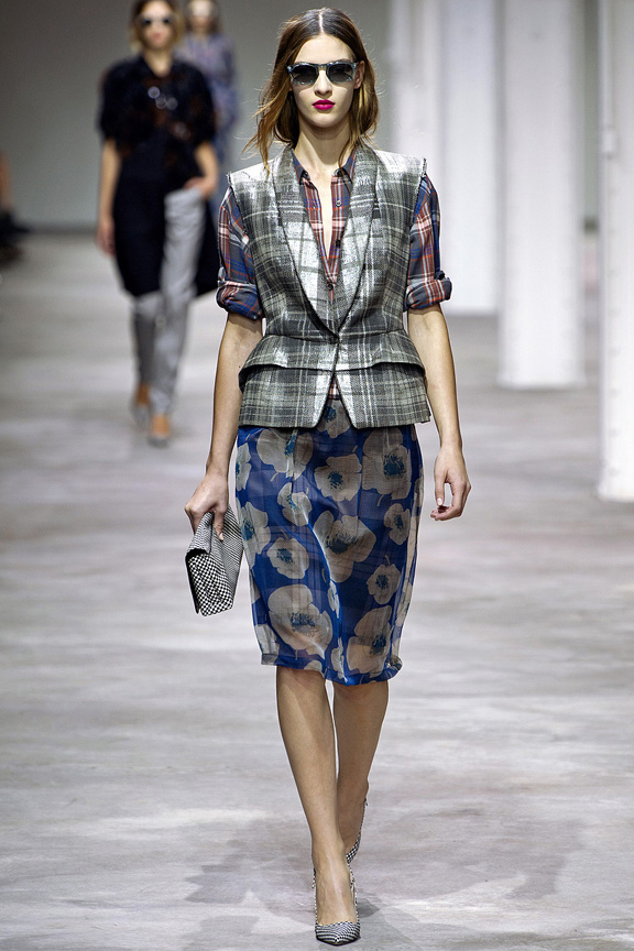 Paris, catwalk, runway show, spring summer 2013, Dries Van Noten