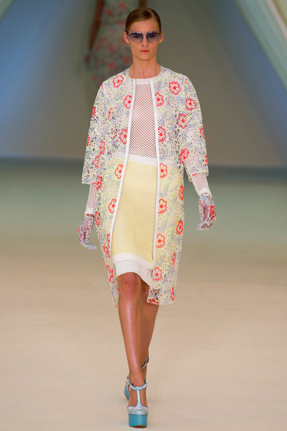 London, catwalk, runway show, spring summer 2013, Erdem