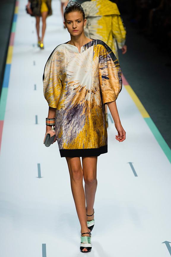 Milan, catwalk, runway show, spring summer 2013, Fendi