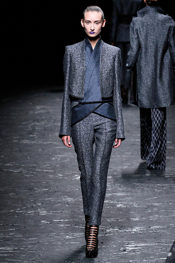 Paris, catwalk, runway show, review, critic, spring summer 2013, haider ackermann