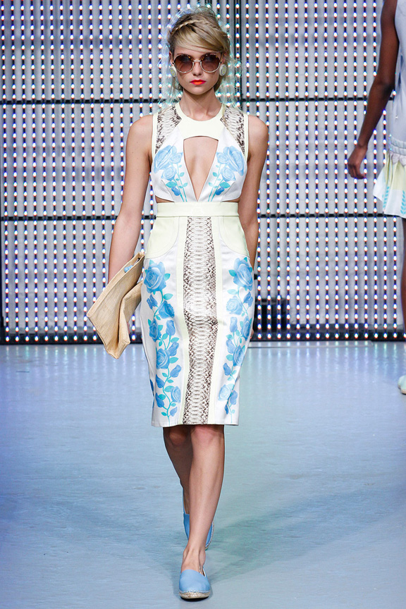 New York, catwalk, runway show, spring summer 2013, Holly Fulton