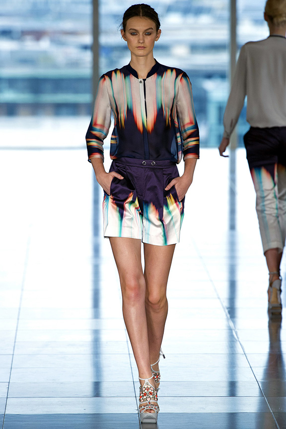London, catwalk, runway show, spring summer 2013, Matthew Williamson