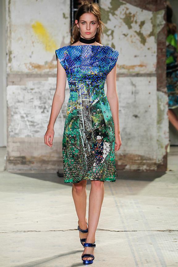 New York, catwalk, runway show, spring summer 2013, Proenza Schouler