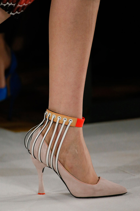 Milan, catwalk, runway show, spring summer 2013, shoes, missoni