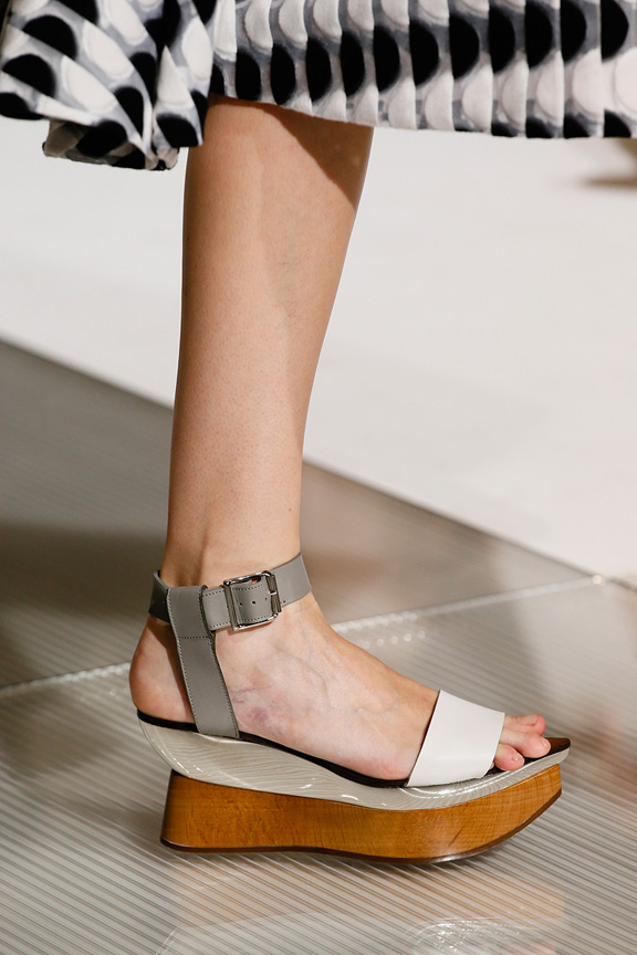 Milan, catwalk, runway show, spring summer 2013, shoes, marni