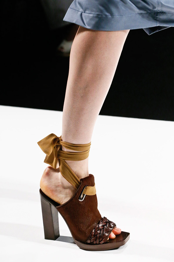 Milan, catwalk, runway show, spring summer 2013, shoes, maxmara