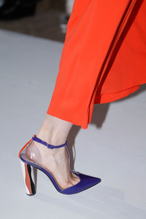 London, catwalk, runway show, spring summer 2013, shoes, Roksanda Illincic
