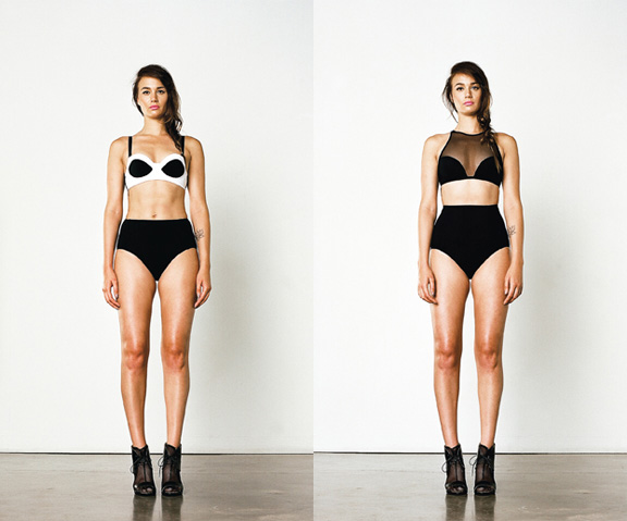 beth richards, swimwear, love, Canadian designer