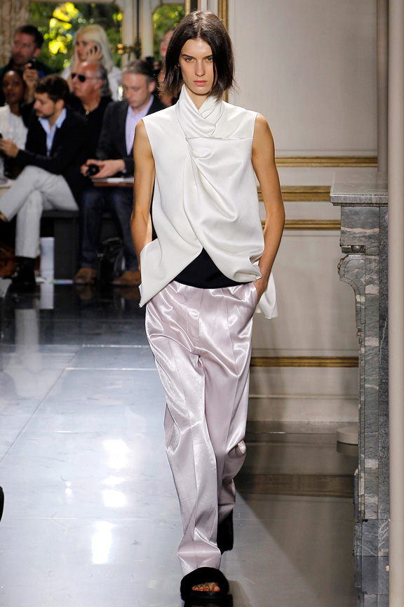 Paris, catwalk, runway show, review, critic, spring summer 2013, Phoebe Philo, Celine
