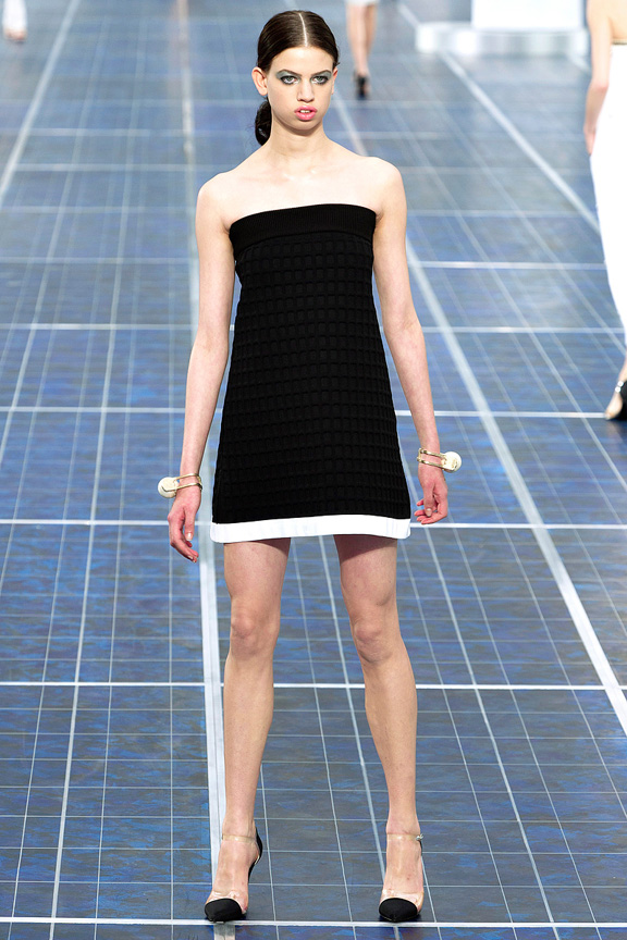 Paris, catwalk, runway show, review, critic, spring summer 2013, chanel, karl lagerfeld