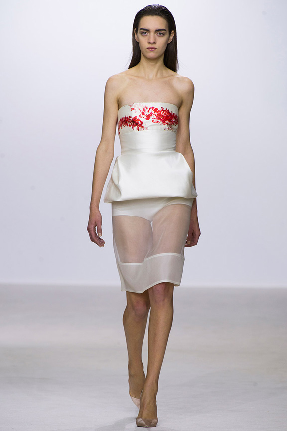 Paris, catwalk, runway show, review, critic, spring summer 2013, giambattista valli