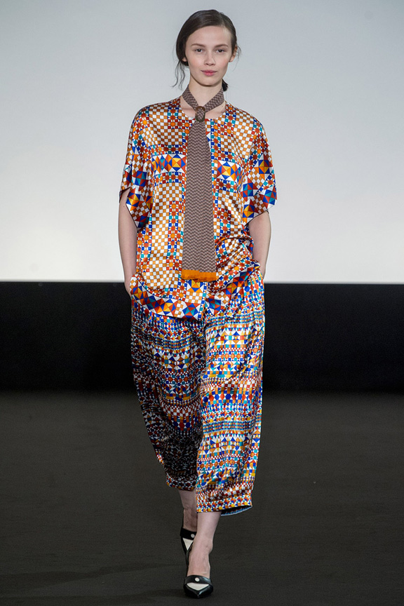Paris, catwalk, runway show, review, critic, spring summer 2013, Hermes