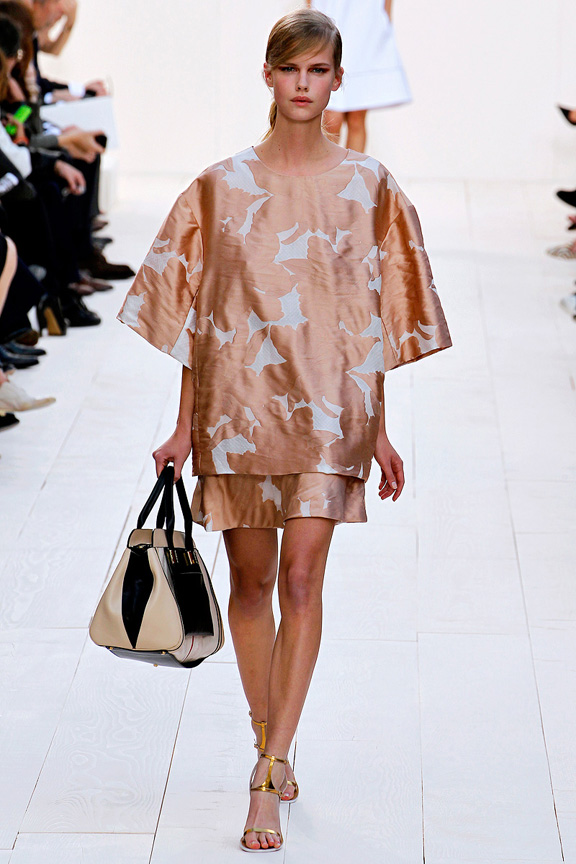 Paris, catwalk, runway show, review, critic, spring summer 2013, chloe