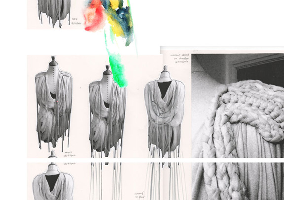 Online fashion design portfolio examples 65