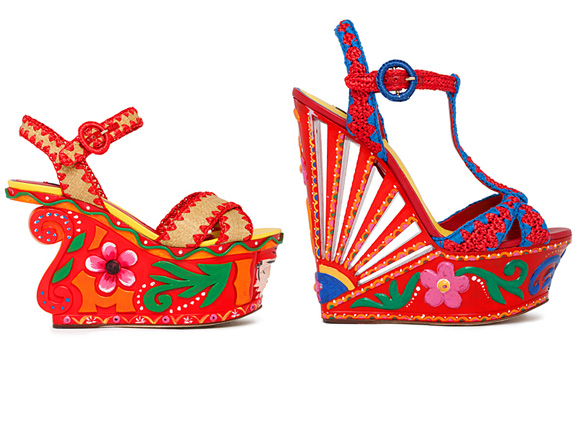 Dolce & Gabbana, love, shoes, sandals, amazing shoes, spring summer 2013