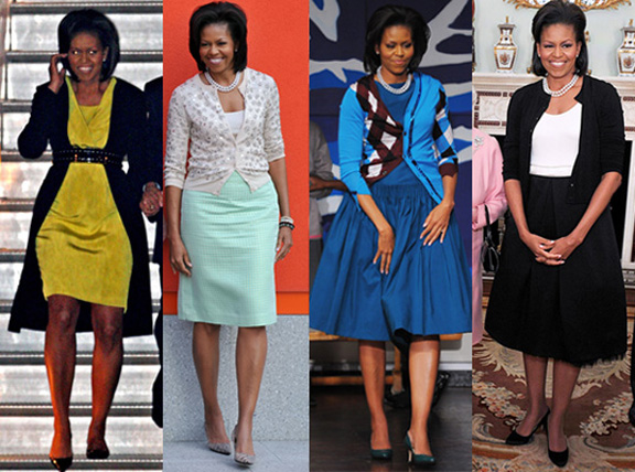 michelle obama, kate middleton, same dress twice, celebrity, fashion