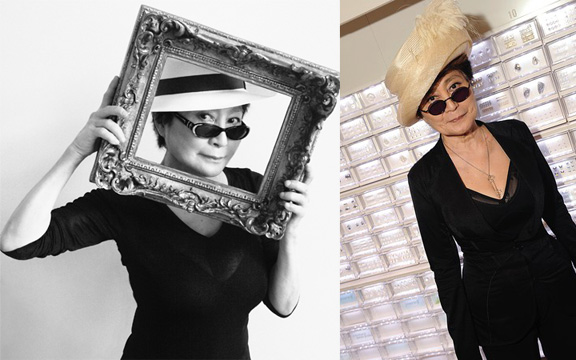 yoko ono, opening ceremony, celebrity collaborations, loathe