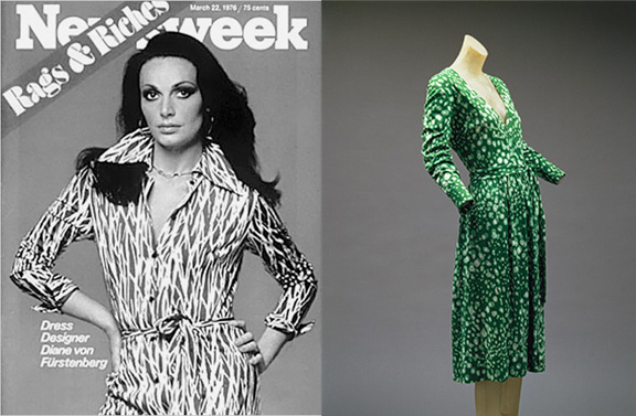designer dress, Diane Von Furstenberg, wrap dress, fashion classics, fashion stories