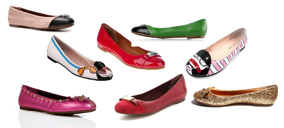 designer shoes, Marc Jacobs, ballerina flat, fashion classics, fashion stories