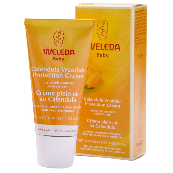weleda, face cream, cold weather, beauty brief, baby products, calendula weather protection cream