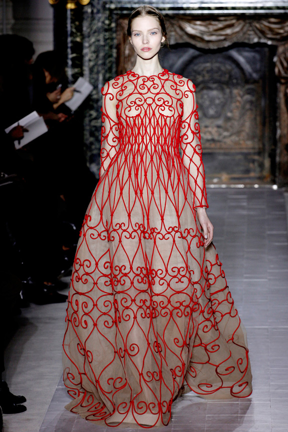 Paris, catwalk, runway show, review, critic, haute couture, spring summer 2013, Valentino