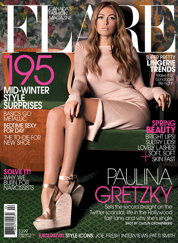 pauline gretzky, flare magazine, celebrities