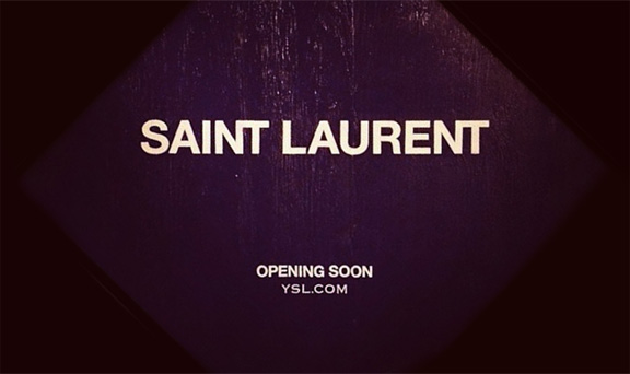 Saint Laurent Promo1 Searching For Style