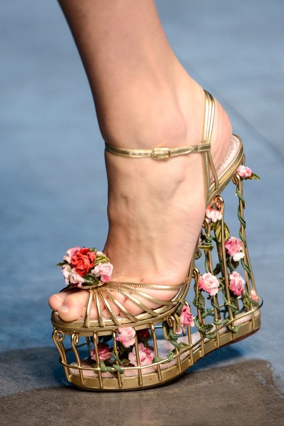 Milan, catwalk, runway show, review, critic, fall winter 2013, shoes, dolce gabbana