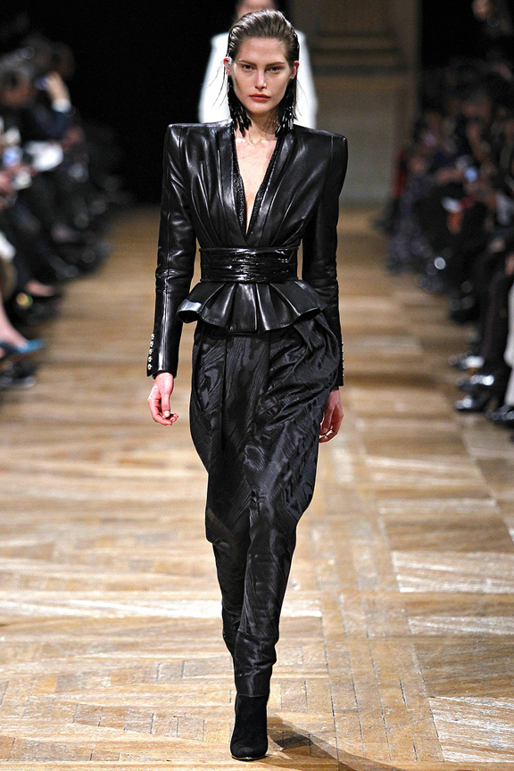 Paris, catwalk, runway show, review, critic, fall winter 2013, balmain