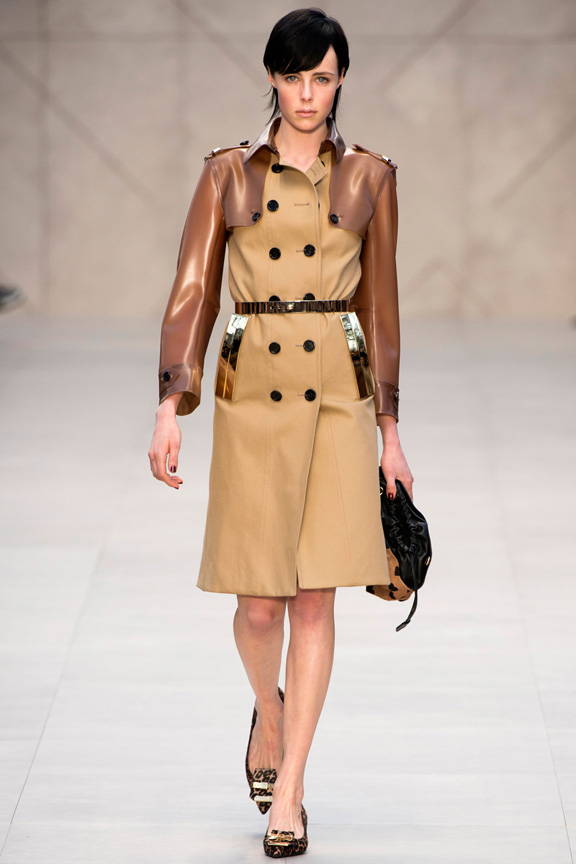 London, catwalk, runway show, review, critic, fall winter 2013, burberry