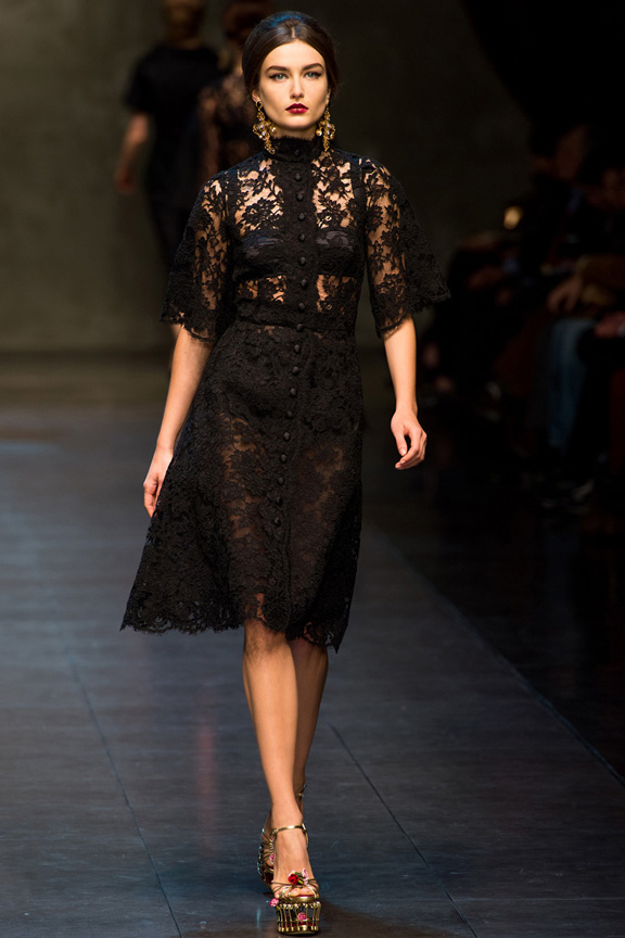 Dolce & Gabbana Fall Winter 2013 | Searching For Style