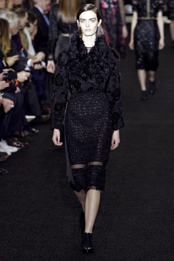 London, catwalk, runway show, review, critic, fall winter 2013, erdem