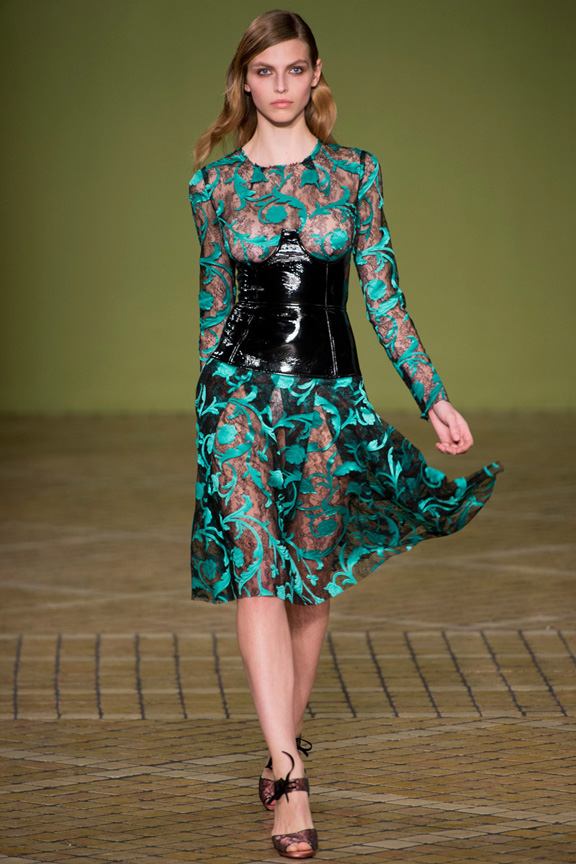 London, catwalk, runway show, review, critic, fall winter 2013, jonathan saunders