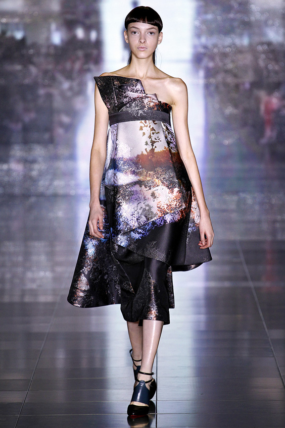 London, catwalk, runway show, review, critic, fall winter 2013, Mary Katrantzou