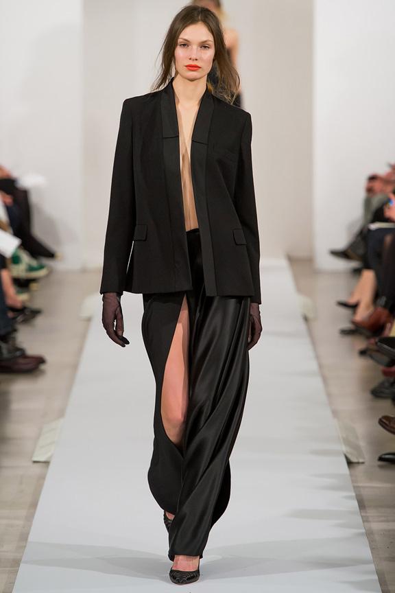 New York, catwalk, runway show, review, critic, fall winter 2013, oscar de la renta, john galliano