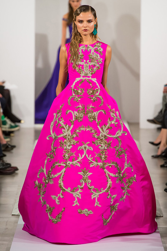 New York, catwalk, runway show, review, critic, fall winter 2013, oscar de la renta, john galliano